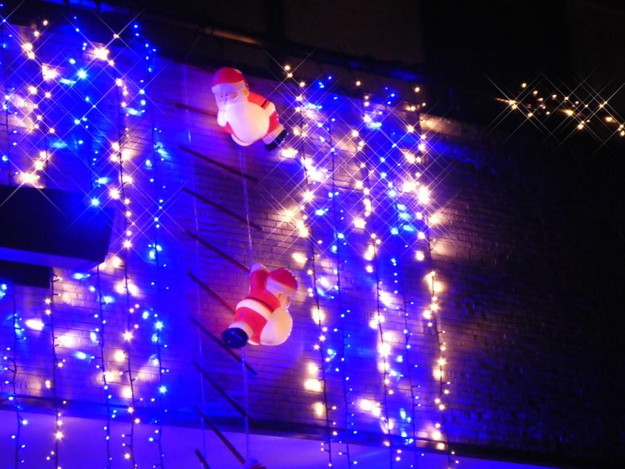 2019年12月 いわき市のクリスマスイルミネーション! 皆さん綺麗に飾っていますね!素晴らしい!