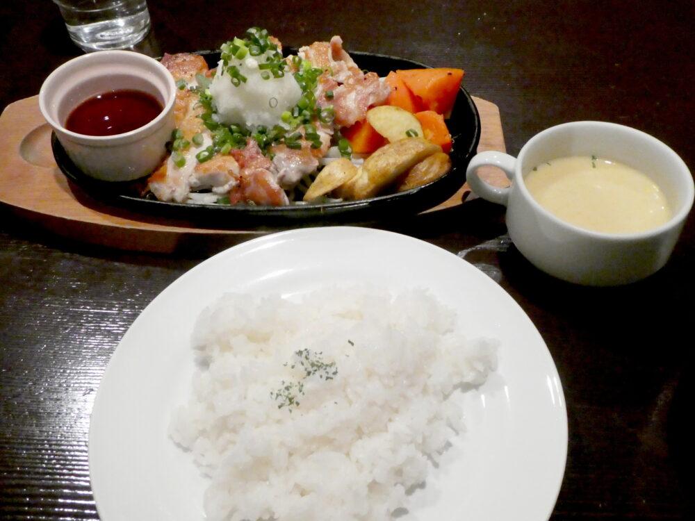 いわき市 美味しいお店「珈琲の森」ランチ・ディナー・大きいパフェ!