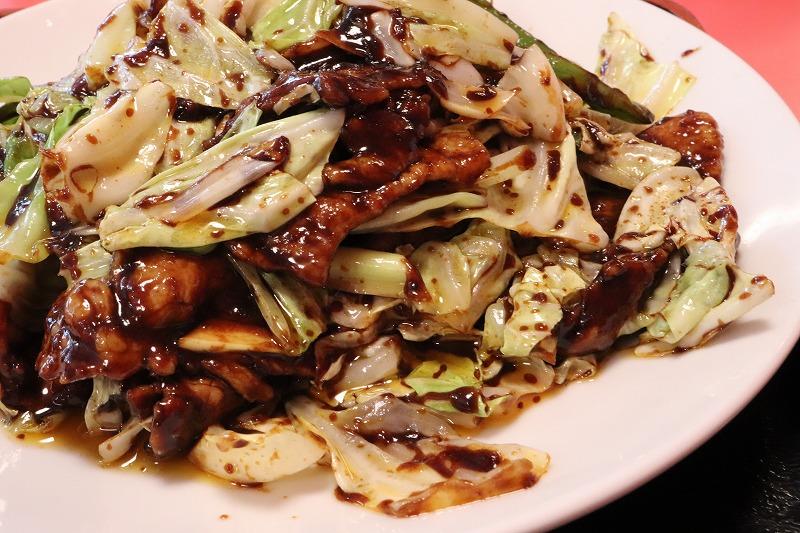 いわき市 平 グルメ・ランチおすすめ 中華料理「萬来軒」 回鍋肉・ナス辛子炒めが絶品!