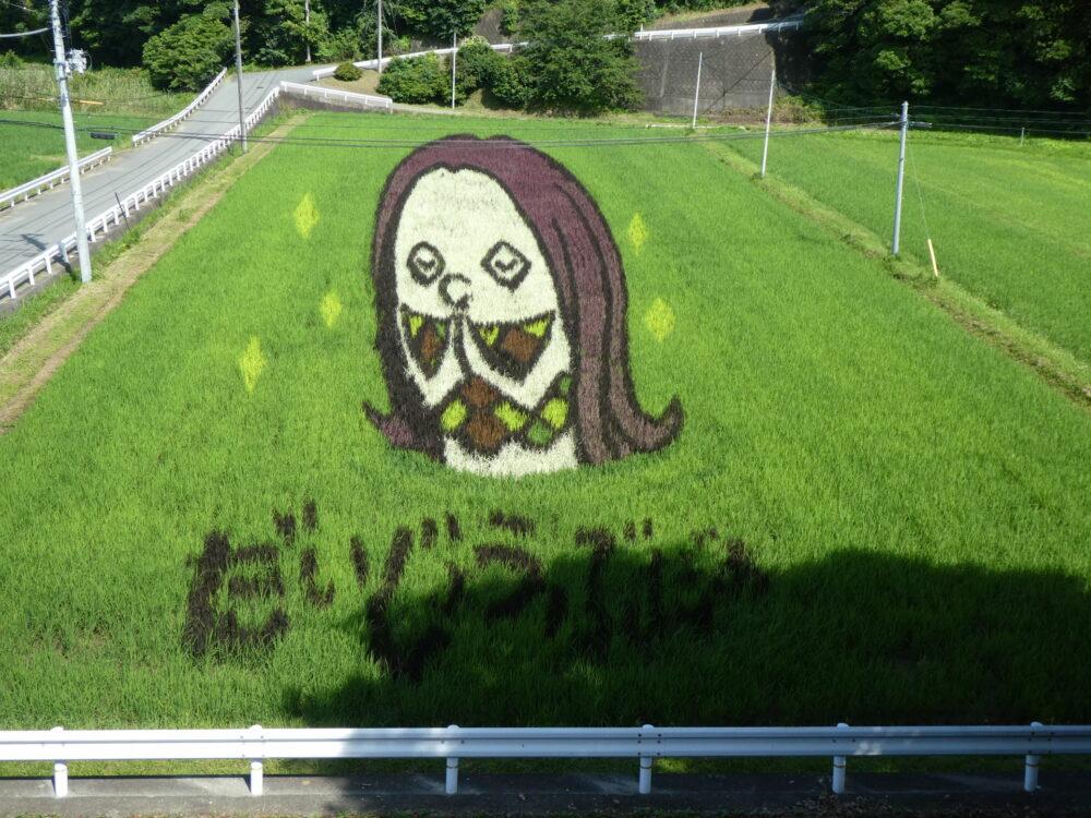 楢葉町 木戸川渓谷遊歩道!「滝めぐり」「田んぼアート」あまびえ!