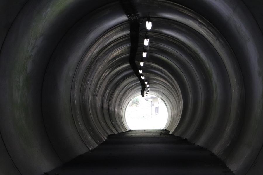 いわき市おすすめスポット「タイムトンネル」時空間を移動せよ!波立海岸!