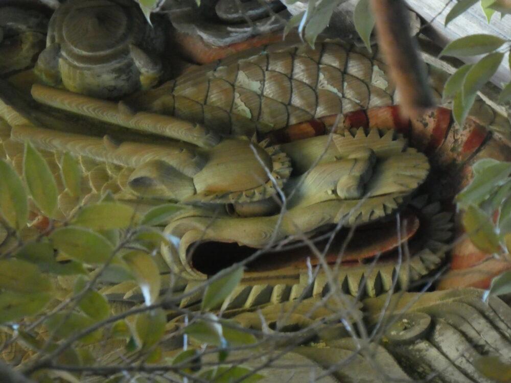 すごいぞ!弁天沼にも「左甚五郎作」の「龍」がいた!?いわき市平 おすすめスポット 弁財天 地元では「弁天沼」として親しまれている!