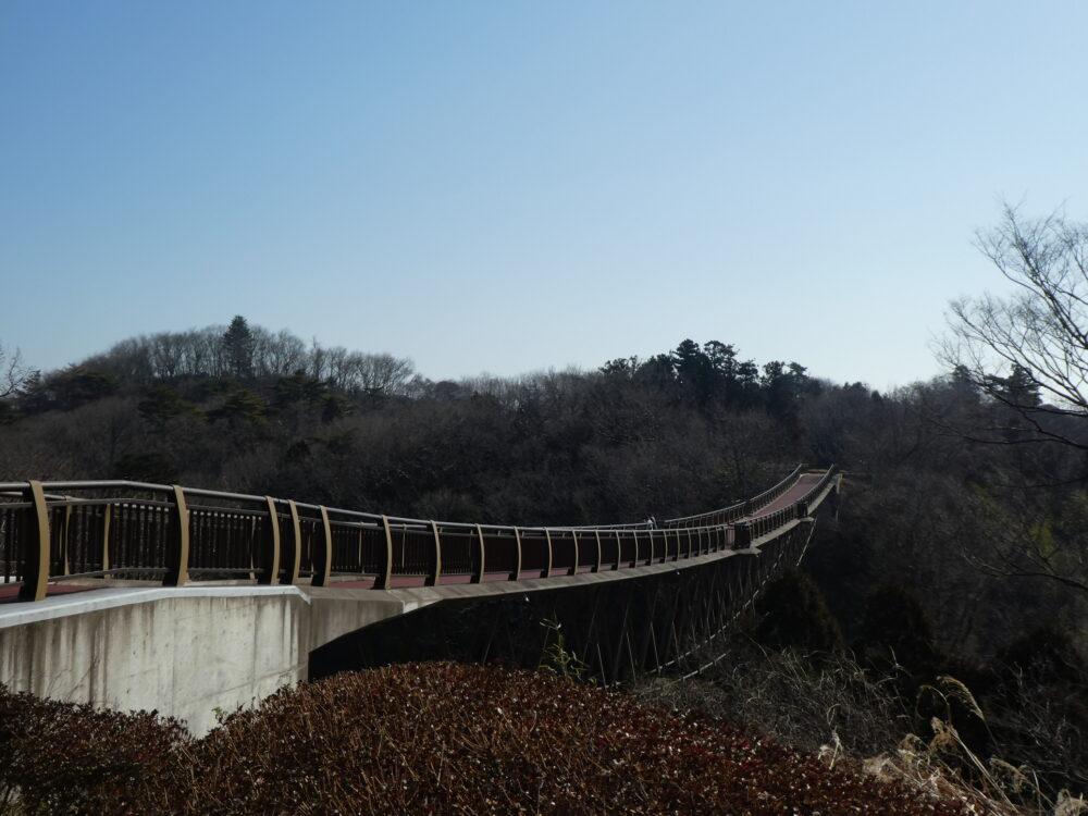 """いわき市おすすめスポット""""ゆらり・ゆらり""""恐怖におびえながら(笑)「吊り橋」を渡ってきました!"""