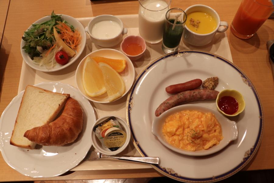 いわき市 おすすめグルメ・ランチ モーニング「ワシントンホテル2F 「カフェレストラン ボンジュール」