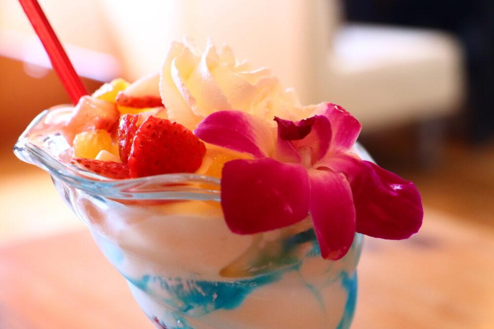 いわき市おすすめグルメ・ランチ 東田町「ダイニングカフェ RUN」 ランチもヨーグルトパフェも美味しかった!