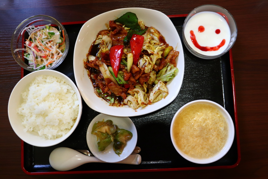 いわき市常磐水野谷町「中華麵房 PAO」ホイコーロ定食・台湾ラーメンが半端なく美味しい!おすすめグルメ・ランチ