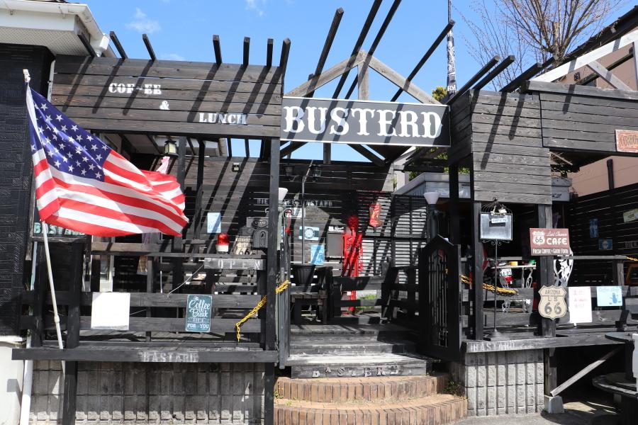 いわき市湯本町 矢沢永吉・ハーレー・1960年代がかっこいい!「Cafe Basterd」