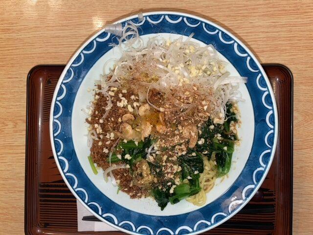 いわき市小名浜 人気No.1 つゆなし担々麺が激うまぁ~~!「お食事処 東や」