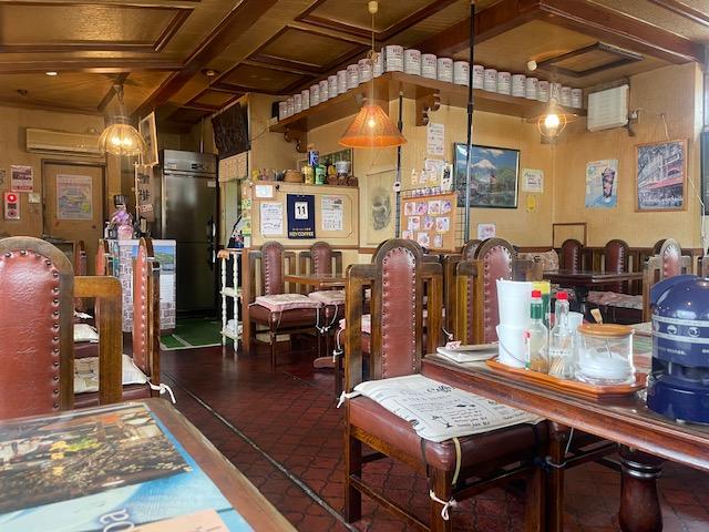 いわき市鹿島町 レトロな喫茶店「ウッドベル」人気のおすすめランチ! ボリューム満点!