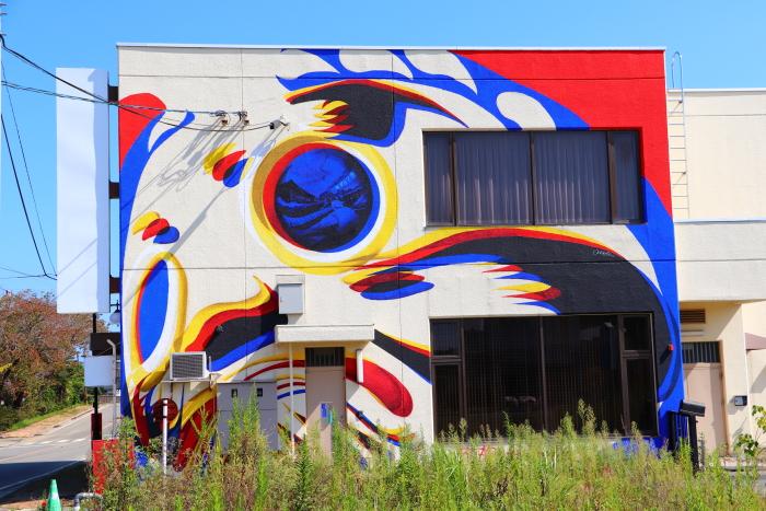 福島県双葉郡 双葉町も徐々に整備や復興が始まりました。駅前のアートが素晴らしいですね!!